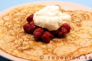 Recipe for good pancakes