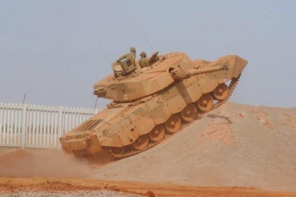 South African Army - Olifant Mk1B – Main Battle Tank – Crew: 4 (Commander, Gunner, Loader and Driver) Armament: 1 x 105mm (L7) Rifled Gun, 1 x 7.62mm Co-Axial and 1 x 7.62mm Anti-Aircraft Machine Guns.