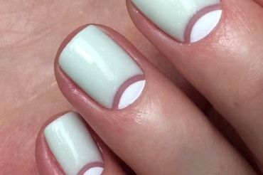 How to do a half moon manicure