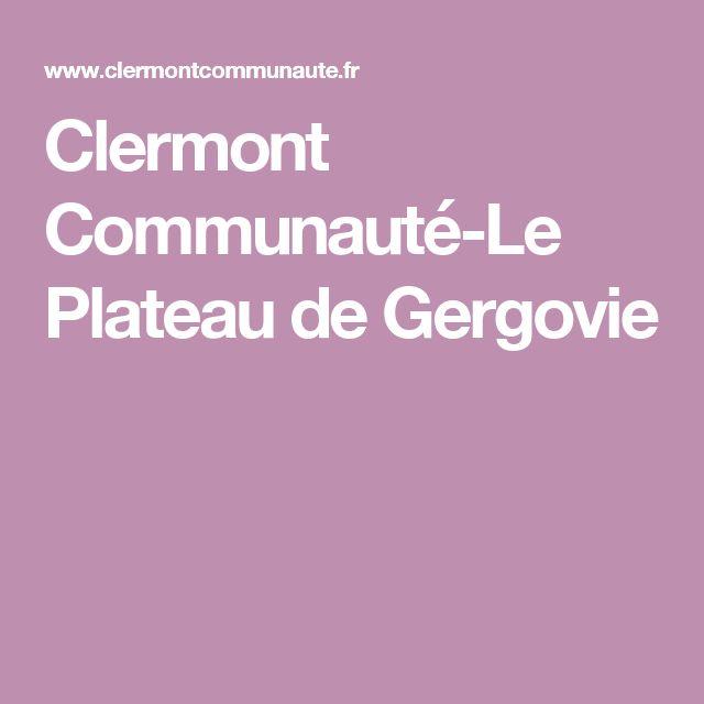 Clermont Communauté-Le Plateau de Gergovie