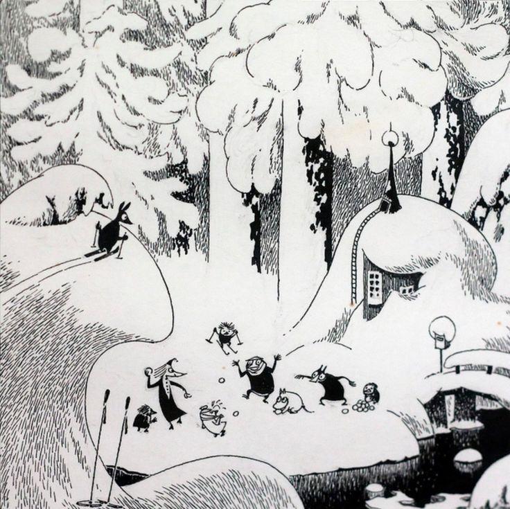 утяшева открытка волшебная зима в муми-доле оглашения