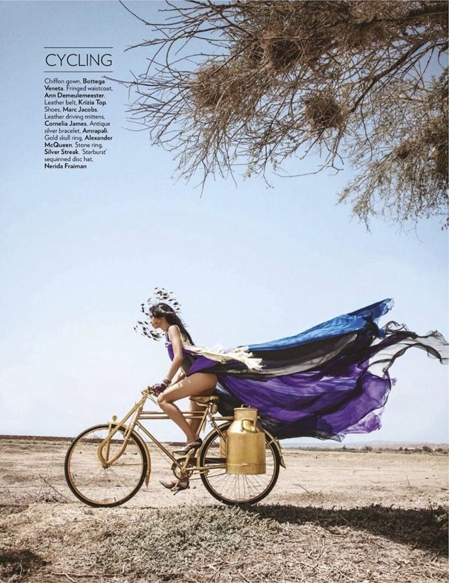 Alys Hale by Diego Fuga for Vogue India July 2012