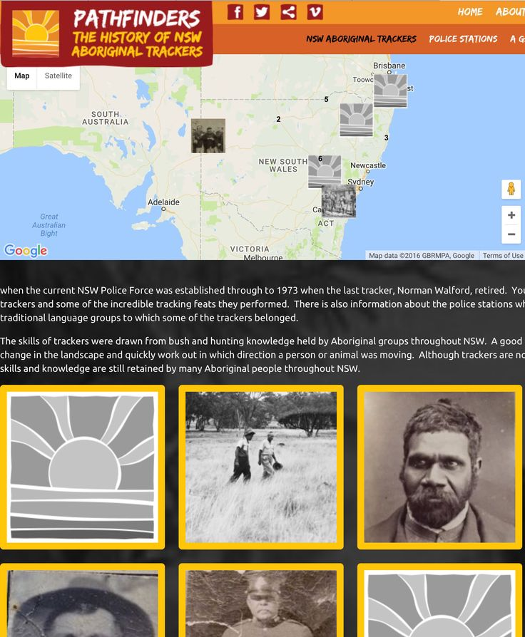Pathfinders - The history of NSW Aboriginal trackers