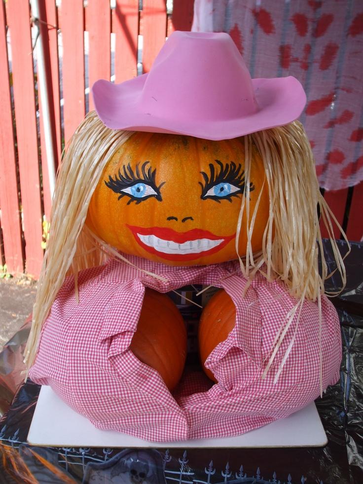 Dolly pumpkins 2011 by Nancy Hunter