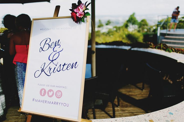 Wedding welcome sign! A personal touch on your big day. Add a hashtag to collect all your guests pics in one place. Photography by Juddric Photography. www.summerdean.com.au