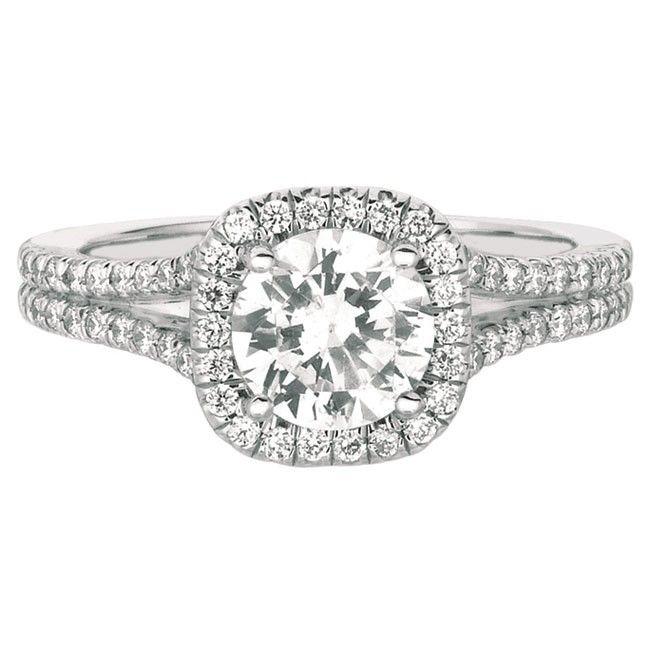 Martin Flyer Split Shank Engagement Ring