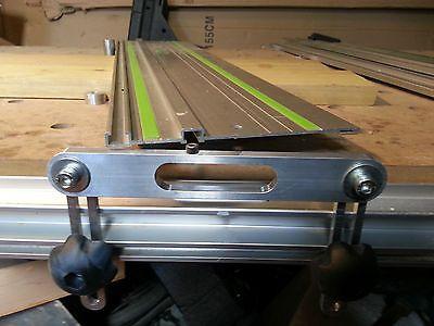 Guide rail support to suit Festool rails