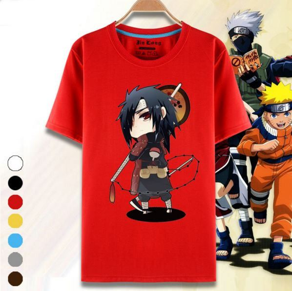 71 Best Naruto Merchandise Images On Pinterest: Super Cute Madara Uchiha Naruto Character 7 Colors T-Shirt