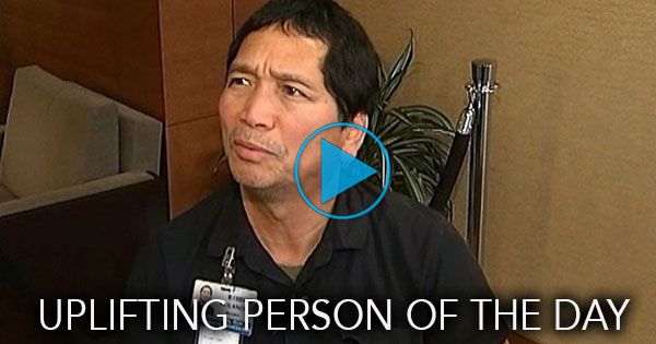 """Rolando Maaba, a janitor at Rockford Memorial Hospital in Rockford, Illinois, does more than just keep the place tidy...he uplifts the hospital's patients, their families and the employees.""""I can help these people to be happy,"""" he says...and you'll love how he does it."""