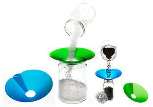 Product Photography by LisaSista at Artists behind cameras Studio. Featuring - Bigmouth Funnels!