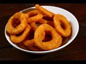 Cibulové kroužky jsou skvělou chuťovkou k pivu. Pokud je budete podávat s česnekovým dipem, pochutnáte si ještě víc, ovšem za ...