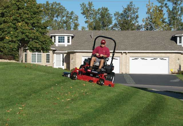 Why use a Zero Turn Lawn Mower - Once you go zero turn you never go back!