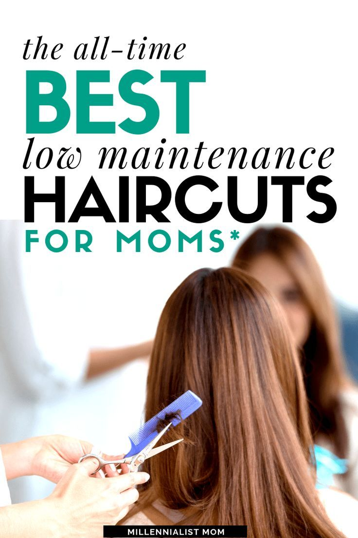 The Best Low Maintenance Haircuts For Moms Low Maintenance Haircut Low Maintenance Hair Easy Mom Hairstyles