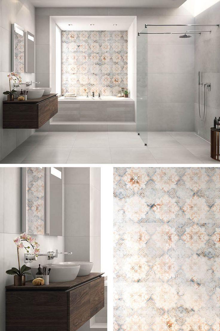 Wie Erstellen Badezimmer Unterschiedliche Fliesen Mobel