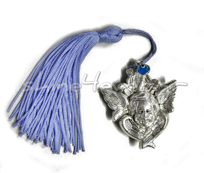 Silver 999° angel christening favor. By shine4ever.gr