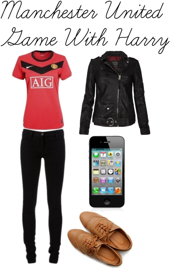 """Manchester United Game With Harry"" by amanda-1995 ❤ liked on Polyvore"