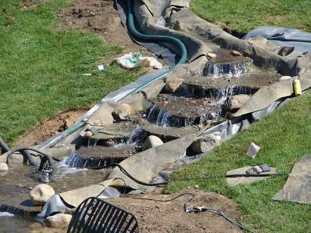 10 best rock a roll pond liner images on pinterest pond for Coy pond liner