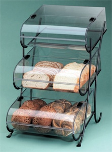 Three Tier Wire Pastry Display