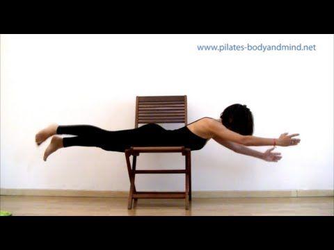 Pilates - Esercizi per Schiena, Cervicale e Colonna Vertebrale: ginnastica posturale e stretching - YouTube