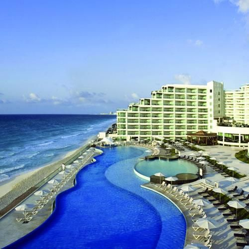 Hard Rock Hotel Cancun Formerly Cancun Palace Is An All