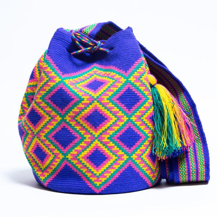Sınırlı Üretim Wayuu Çanta - MAĞAZA wayuu ÇANTA | Wayuu Tribe tarafından el yapımı