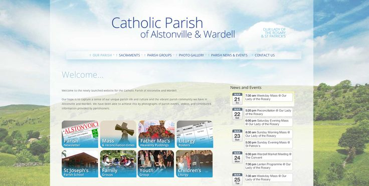 alstonvillecatholicchurch.org.au - new website March 2014