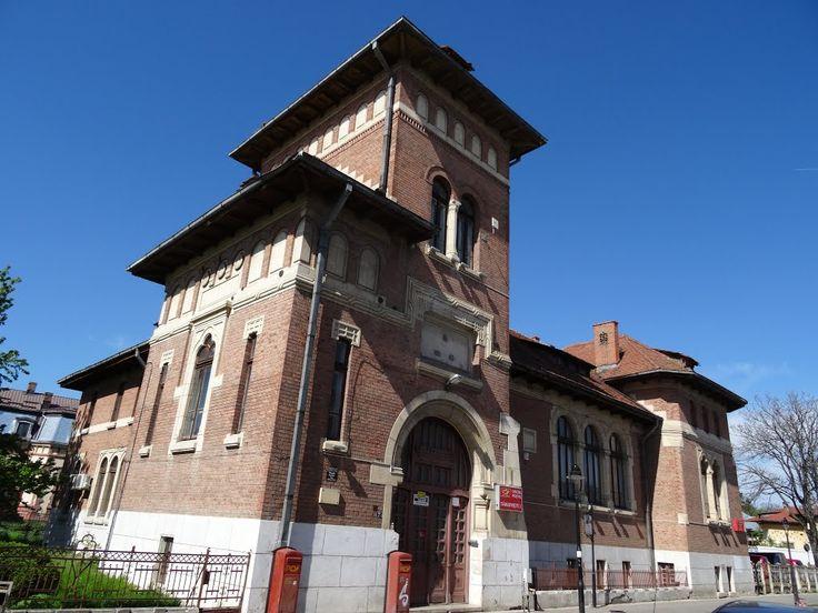 Palatul Poștelor din Târgoviște, ctitoria arhitecților Grigore Cerchez și Alexandru Clavel