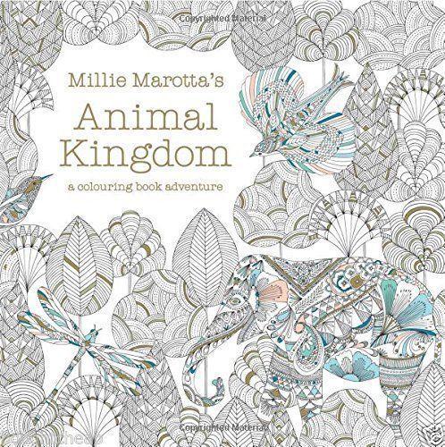 Millie Marottas Animal Kingdom A Colouring Book Adventure Adults Paperback UK
