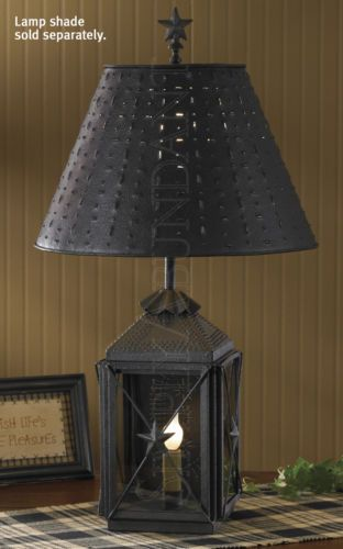 Blackstone lantern lamp by park designs antique reproduction iron 22 25 h
