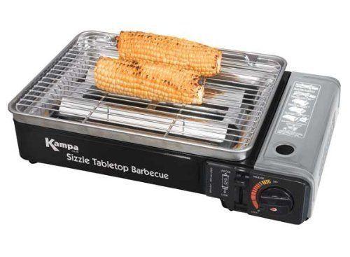 Kampa Barbecue portable. Kampa - Sizzle Tabletop Camping BBQ.