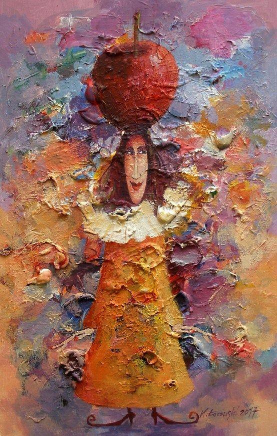 Mrs. Autumn 42x27cm,