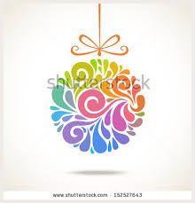 simple christmas decorations vectors - Google Search