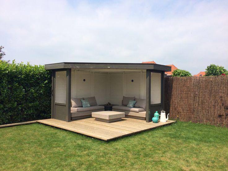 17 beste idee n over kleine buitenkeukens op pinterest buitenkeukens achtertuin keuken en - Moderne buitentuin ...