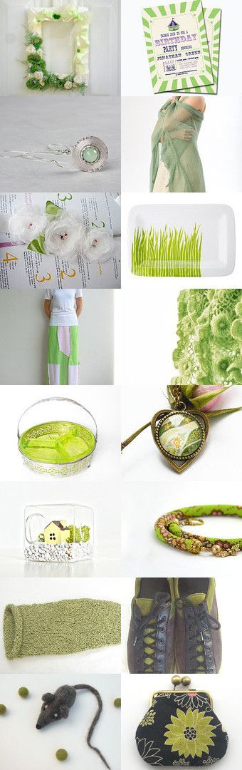 eco friendly by Vicky on Etsy--Pinned with TreasuryPin.com