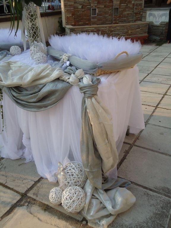 ΣΤΟΛΙΣΜΟΣ ΓΑΜΟΥ - ΒΑΠΤΙΣΗΣ :: Στολισμός Γάμου Θεσσαλονίκη και γύρω Νομούς :: ΣΤΟΛΙΣΜΟΣ ΓΑΜΟΥ ΕΚΚΛΗΣΙΑΣ ΣΕ ΑΣΗΜΙ ΚΑΙ ΛΕΥΚΟ ΚΩΔ: BK-22