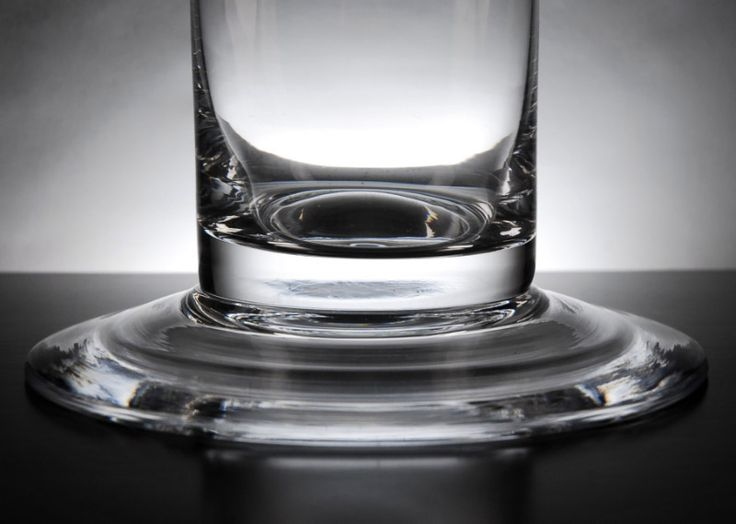 Cityscape 4 x 39.5  Footed Clear Glass Cylinder Vases
