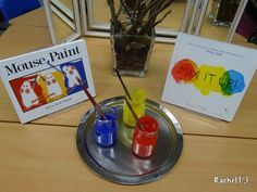 """Colour mixing provocation - from Rachel ("""",)"""