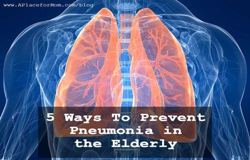 5 Ways to Prevent Pneumonia in the Elderly