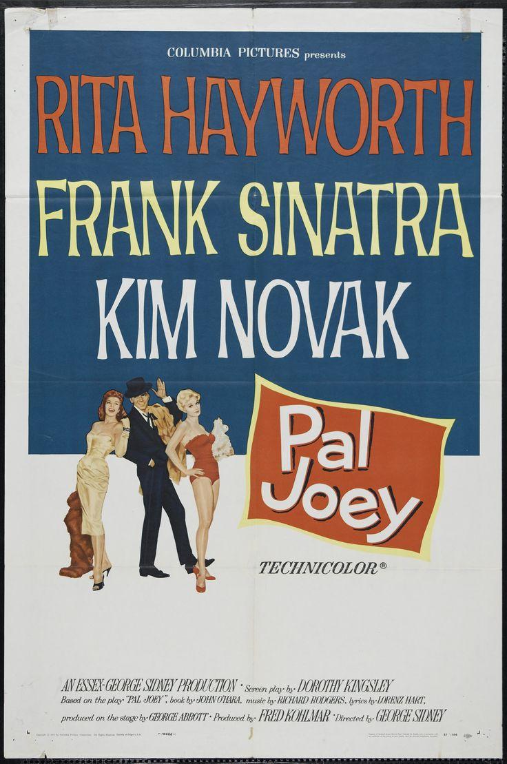 """Pal Joey"" (1957). Country: United States. Director: George Sidney. Cast: Frank Sinatra, Rita Hayworth, Kim Novak, Barbara Nichols"