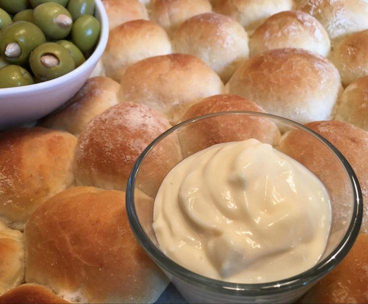 """Rezept Olla´s """"Pan e Aioli"""" - Brot mit Aioli wie in Spanien von Olla di Bolla - Rezept der Kategorie Saucen/Dips/Brotaufstriche"""
