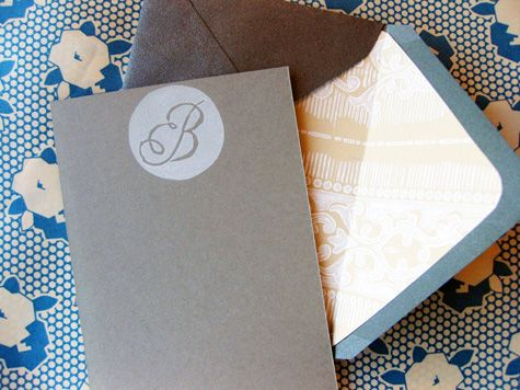 Design*Sponge Best of DIY: Notecards and Stationery - Flax & Twine