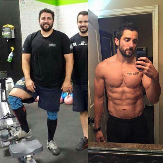 Weight Loss Transformation One Year