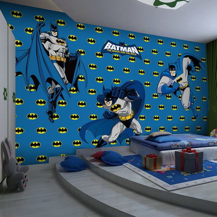 1000 ideas about cool batman wallpapers on pinterest for Cool bedroom wallpaper designs