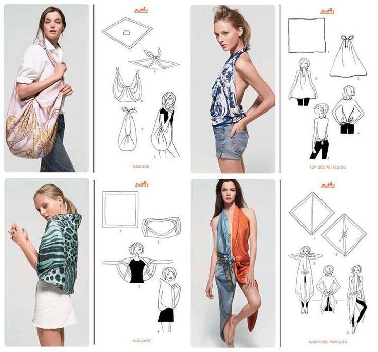 Forum di greenME.it :: Discussione: 20 idee per indossare e riciclare i vecchi foulard (1/1)