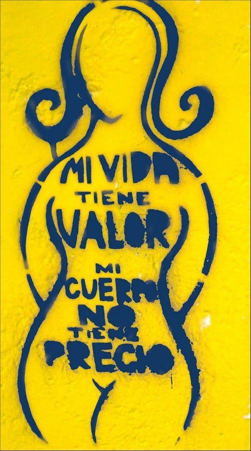 "Foto: ""Mi vida tiene valor"" CATALINA SCOTT (Chile)"
