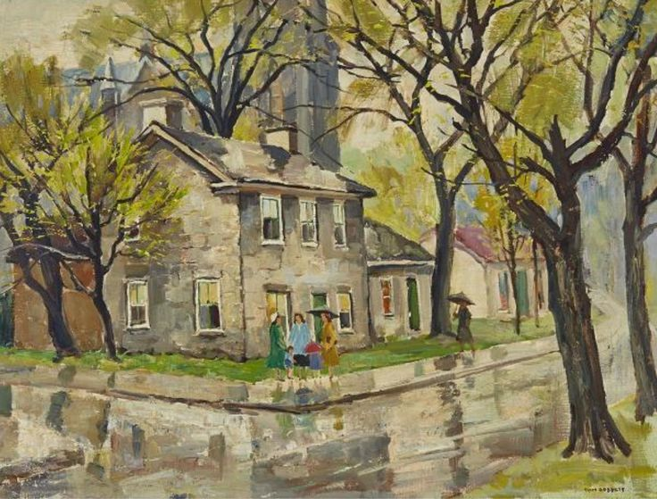 Tom Roberts; Springtime in the City
