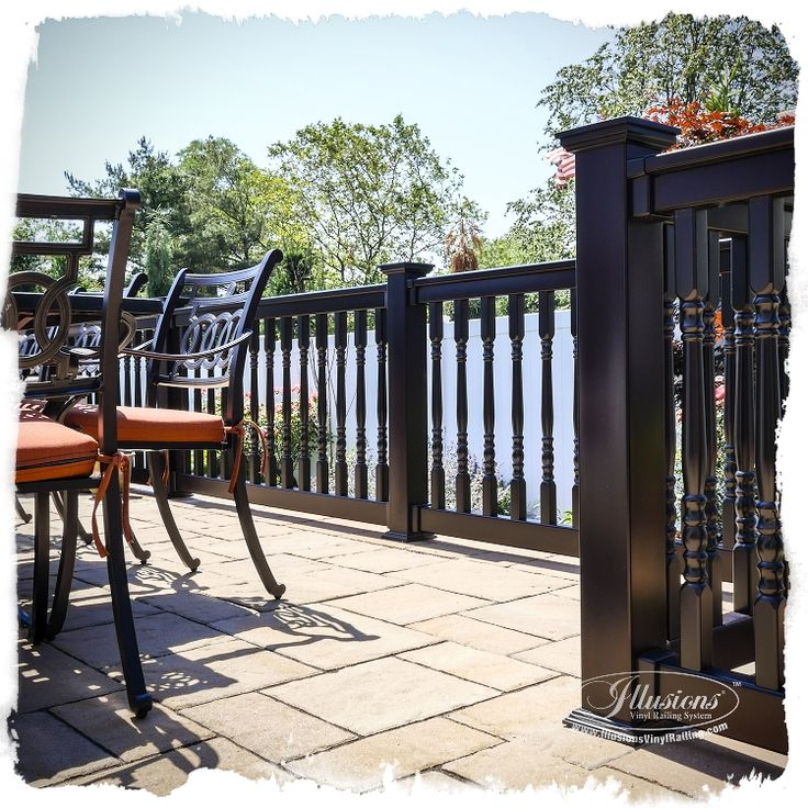 Best images about illusions vinyl railing system on