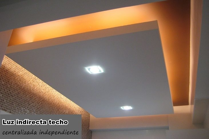 The 25 best techos pladur ideas on pinterest eso eso el - Luz indirecta ...