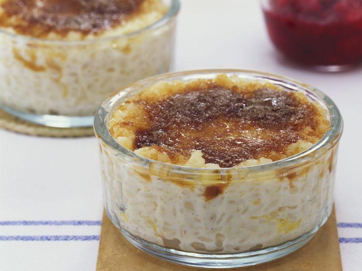 Milchreis mit Karamellkruste   Zeit: 10 Min.   http://eatsmarter.de/rezepte/milchreis-mit-karamellkruste