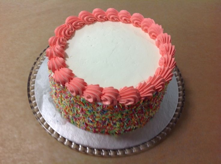 The #CheesecakeShop mini #Rainbow #cake is a crowd pleaser!
